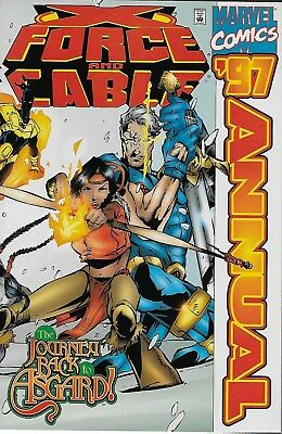 X-Force and Cable Annual 1997 / John Francis Moore & Rob Haynes