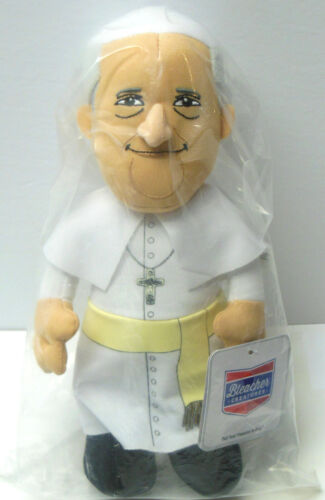 """POPE FRANCIS Plush Figure Doll 10 1/2"""" BRAND NEW SEALED NWT Jesus Catholic Toy"""