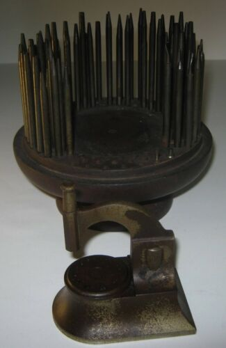 Vintage Antique Jewelers Staking Punch set Watch repair stamping tool FREE SHPG
