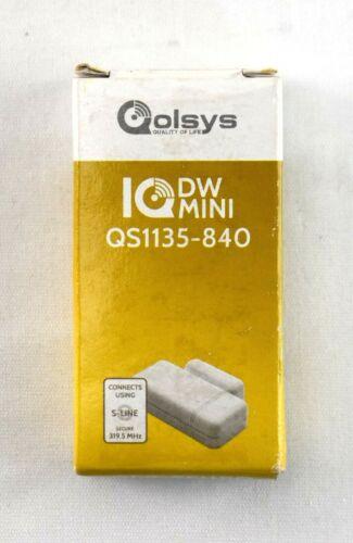 Qolsys IQ DW Mini S-LINE Encrypted Door/Window Sensor QS1135-840 | 8481sw