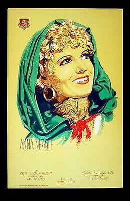 ANNA NEAGLE Street Singer's Serenade 1935 PORTRAIT Limelight