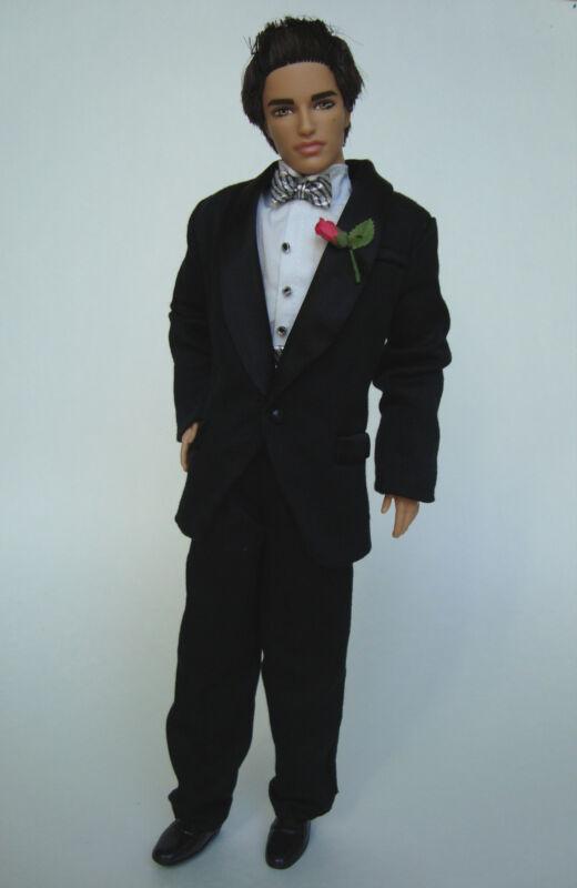 Barbie/KEN Clothes/Fashion KEN BLACK TUXEDO W/ Shirt/Pants/Socks/Shoes NEW!