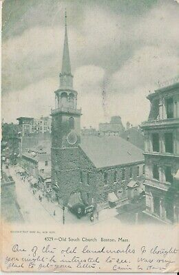 "Boston, MA. The Old South Church. ""Used"""
