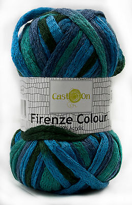 Knitting Scarf Yarn - 100g - The Best Colours to Choose