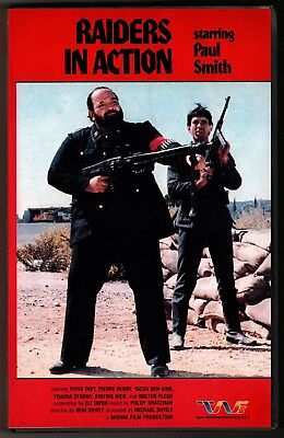 Raiders In Action  1983  Vhs Trans World Entertainment Big Box Uncut Vg