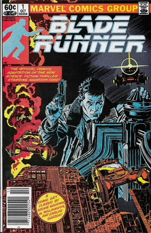 Blade Runner #1 Marvel 1982 (VF) Newsstand Edition