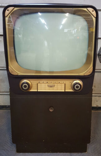 Admiral 1950s Television Console *** MUSEUM CLOSED ***