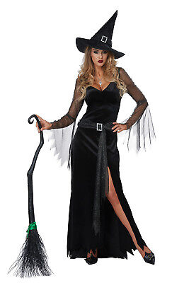 Witch Adult Womens Costume - Sexy Rich Witch Adult Women Halloween Costume