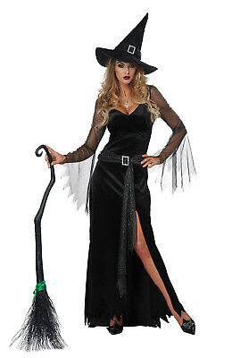 Sexy Rich Witch Adult Women Halloween - Woman Witch Costume
