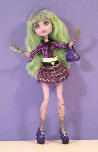 Monster High Doll - TWYLA BOOGYMAN 13 Wishes - Lavender Skin 2012