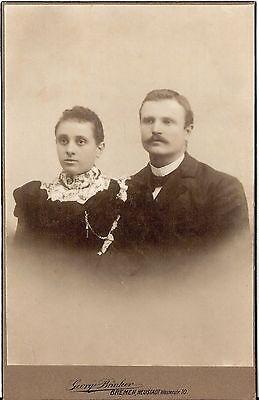 CAB photo Feines Paar - Bremen um 1910