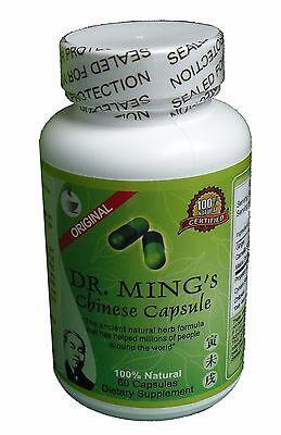 Te Chino Green Tea Extract  Pure  60 Capsules Del Dr Ming Pinateina Slim Diet