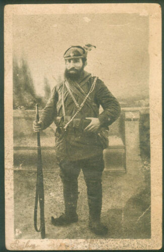 SERBIA KINGDOM CHETNIK KOMITA PHOTO VOJVODA JOVAN