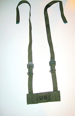 US ARMY MILITARY SURPLUS VIETNAM ERA 1962 OD FIELD PACK ADAPTER ASSEMBLY STRAP