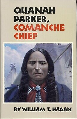 QUANAH PARKER Comanche Chief Indian History White Mother Cultural Broker TEXAS for sale  Oklahoma City