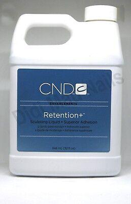CND Retention+ Sculpting Liquid 32oz/946mL Superior Adhesion No Primer Required