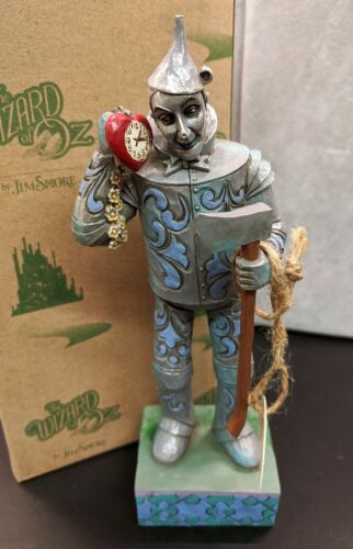 Jim Shore Wizard of Oz Tin Man 4045419 - If I Only Had a Heart - BRAND NEW