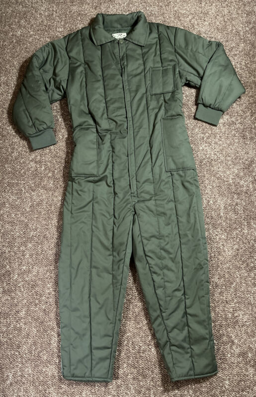ROTHCO Rugged Outdoor Gear Olive Drab Insulated Coveralls Mens Size XL
