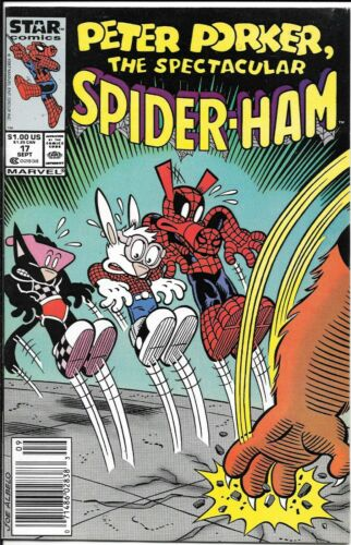 Peter Porker The Spectacular Spider-Ham #17 Newsstand Last Issue