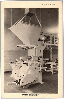 U.S. Signal Corps, Bakery Equipment Industrial Kitchen Vintage Postcard E12 for sale  Shipping to Nigeria