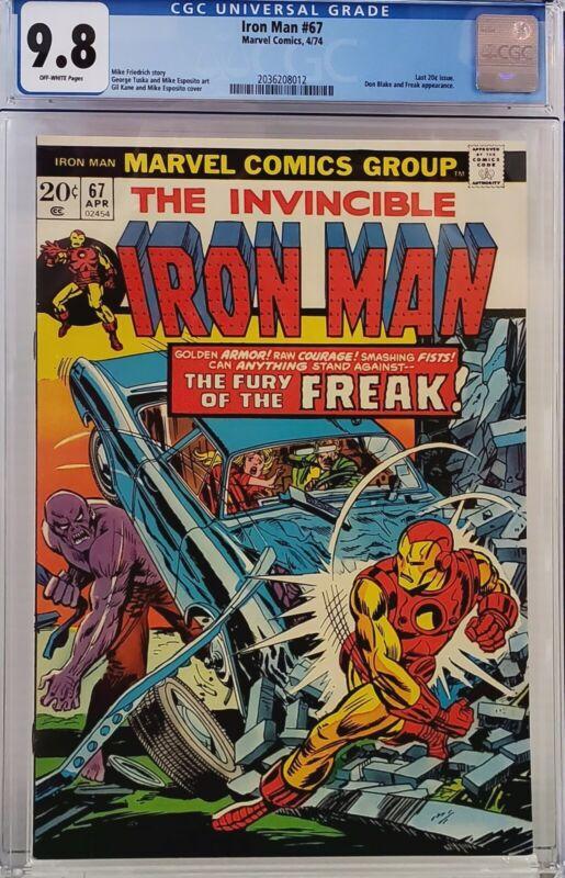 IRON MAN #67 CGC 9.8