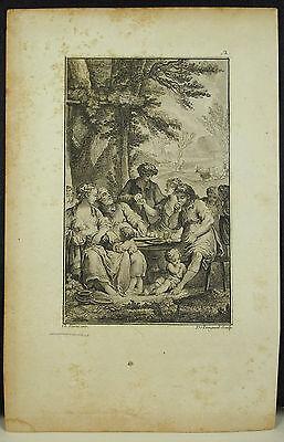 Georgics Virgil Chant II (?) Engraving Joseph of Longeuil Ap Charles From