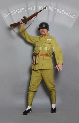 Replica  Ww2 China  N . R. A  Soilder  Uniform set ( German Equipme Division  )