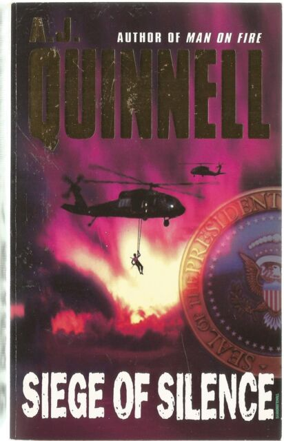 Siege of Silence by A. J. Quinnell (Paperback, 2003)