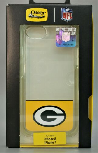 NEW OtterBox Symmetry NFL Green Bay Packers Case for iPhone 7+ & 8 Plus - Clear