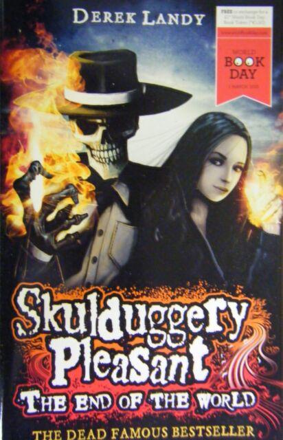 Skulduggery Pleasant The End of the World Derek Landy World Book Day novelette