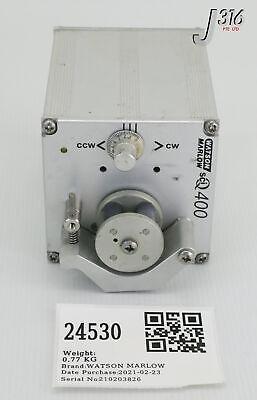 24530 Watson Marlow Sciq 400 Peristaltic Pump 12rpm 15vac 401ud1