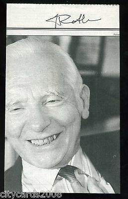 Newspaper Cutting  about Prof Joseph Rotblat -Nobel Peace Prize SIGNED
