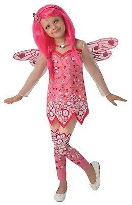 Kinder Rubies Kostüm * Mia and me * - Rosa Perücke Kostüme