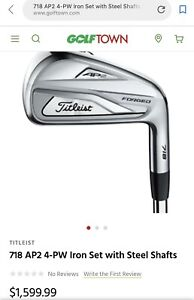 Titleist 718 AP2 Forged Iron 4-PW(Brand New)