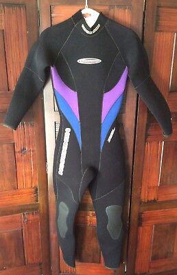 0d96c216be Sz 6 Henderson Womens Dive Wear Surf Dive Swim Full Wetsuit Back Zip Quality