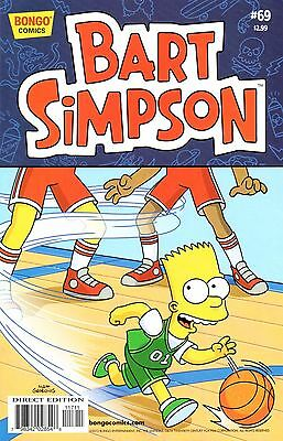 Bart Simpson Comic 69 Bongo 2012   Hoop Schemes/Bart Simpson Shall Do My Bidding