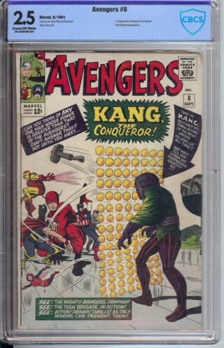 Avengers # 8 CBCS 2.5 1st app. of Kang the Conqueror
