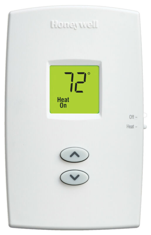 Honeywell Home TH1100DV1000 PRO 1000 Vertical Non-Programmable - Premier White