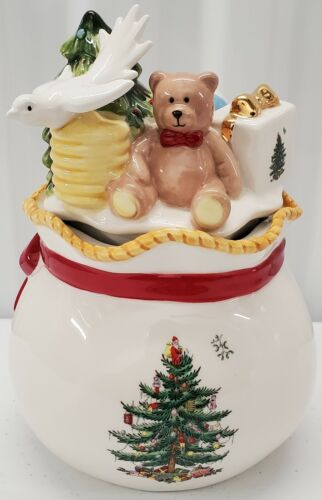 Spode - Round Covered Candy Box