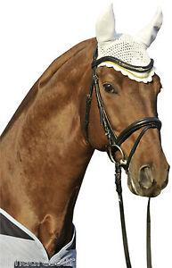 HKM-Ear-Bonnet-to-Match-Gently-Saddlecloths-Numnahs-Pony-Cob-Full-14-Colours