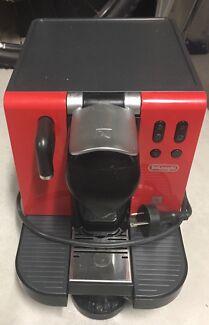 Nespresso pod coffee machine