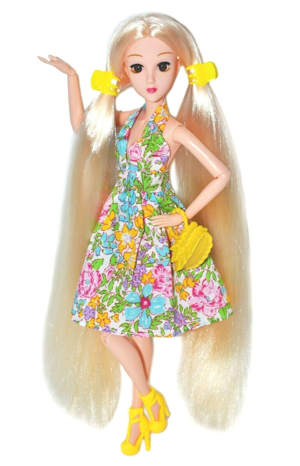 Eledoll Antheia Poseable Fashion Doll Very Long Hair 3D Eyes