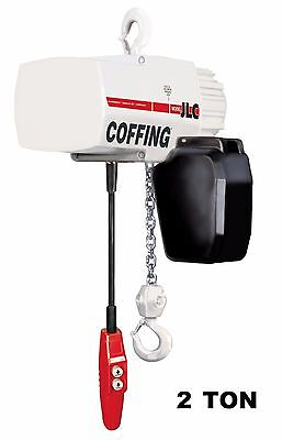 Cmco - Coffing Jlc Electric Chain Hoist - 2 Ton Capacity