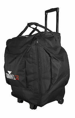 Chauvet DJ CHS50 Rolling Lighting Travel Bag+Wheels And Pullout Handle DMX Light
