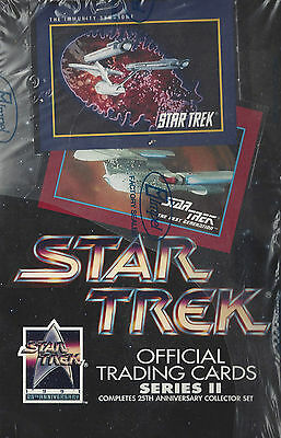 TC Star Trek 25th Anniversary Series 2 Trading Card Box
