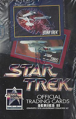 TC Star Trek 25th Anniversary Series 2 Trading Card Box