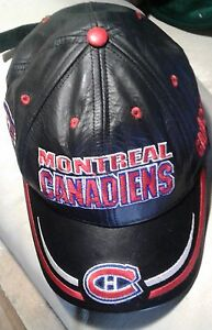 Montreal  Canadian authentic NHL leather cap never worn