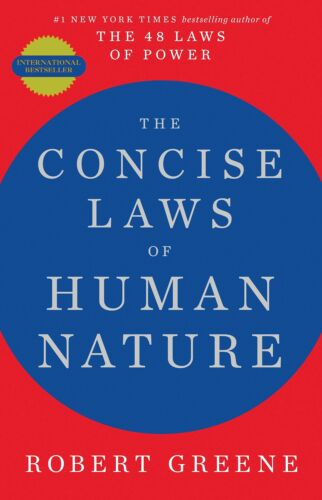 Concise Laws of Human Nature by Robert Greene (English) NEW Paperback Book 2020