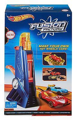 Hot Wheels Fusion Factory Car Maker Mattel Dgc96 New