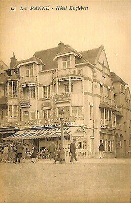 CPA - Belgique - De Panne - La Panne - Hôtel Englebert